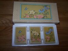 Avon Soap Set Screen of Flowers 3x 50g OVP