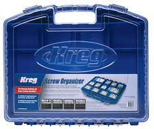 Kreg Pocket Hole Screw Organiser, Carry Case, Screw Container. - 361817