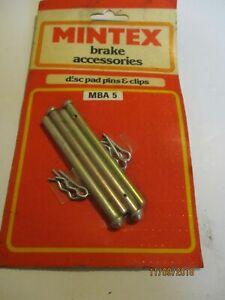 MBA5 New Mintex Classic Brake Disc Pad Pins & Clips Accessory Fitting Kit
