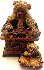 Boyds Bears, Judge Griz.Hissonah, #228303, Pristine condition 1E