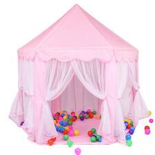Niños Princesa niños Pop Up Jugar Castillo Carpa Jardin Para Exterior E Interior Playhouse