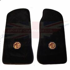 New Set of Plush Carpet Floor Mats MGB 1968-1980 Embroidered MG Logo 240-731
