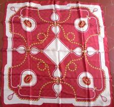 Foulard carré CARTIER Silk square scarf sciarpa quadrata e di seta 095880db400