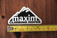 Maxim Climbing Ropes Sticker Decal New
