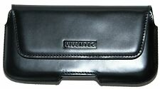 Genuine Leather Belt Clip Carrying Case for Samsung Galaxy S3 Fit In With Bumper