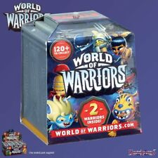 World of Warriors - Warrior 2 Figure Sealed Surprise Pack with Battle Temple