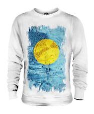 Palau Drapeau Grunge Unisexe Pull Belau Football Palauan Cadeau T-Shirt