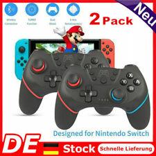 2Stk. Für Nintendo Switch/Pro Wireless Controller Gamepad Gamepads Bluetooth DEU