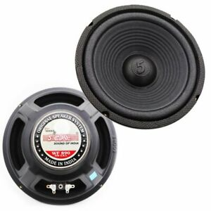 """Replacement 8"""" Woofer Speaker 13 Oz Magnet 500W PMPO Car Home Audio STEREO 4 Ohm"""