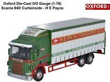 Oxford 76S94002 Scania 94D  Curtainside Rigid H E Payne New 1:76 Scale Offer