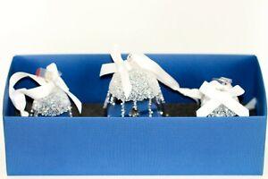 Swarovski Bells Set Christmas Ornament 2017 Original Packaging 5268013 New
