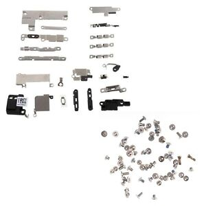 For iPhone 7 Bracket & Screw Set Inner Metal Shields & Holding Brackets & Screws