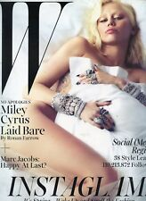 MILEY CYRUS  [ W MAGAZINE ]  MARCH 2014 BRAND NEW MINT