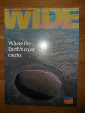 Wide World GCSE Geography Review vol 13 no3, Feb 2002 study book, revision guide