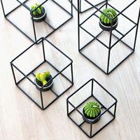 Geometrie Kerzenständer Kerzenhalter Teelichthalter Laterne Metall Ständer