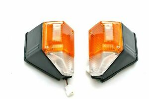 For Toyota Land Cruiser FJ 75 1986-1990 turn signal blinker lights set pair New
