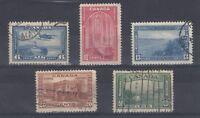 Canada KGVI 1937 Set To 50C Fine Used J305