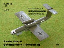 Dornier projet rapidement Bomber II 1/144 Bird Models Resinbausatz/resin kit