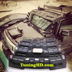 visor on the roof for Hummer H2