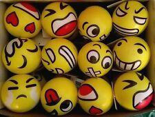 Emoji Stress Reliever Balls, Sensory Toys, Squishy, Squeezable NEW Emoticon