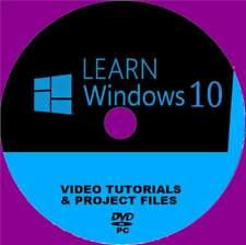 LEARN WINDOWS 10 EASY TO FOLLOW TRAINING VIDEOS PRESENTED BY EXPERTS NEW PC-DVD