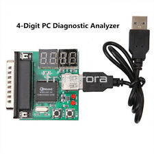 4-Digit PC Laptop Analyzer Diagnostic Motherboard Tester USB PCI Post Test Card