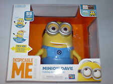 DESPICABLE ME MINION MADE - MINION DAVE TALKING ACTION FIGURE NEW