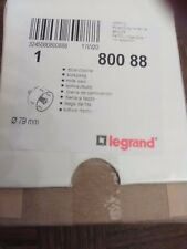 Scie cloche diam.80mm pour boite d'encastrement de prise de sol Legrand 80088