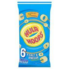 Hula Hoops Salt and Vinegar 6 x 24g - Sold Worldwide from UK