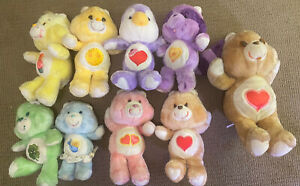 Vintage 1980s  Care Bears & Cousins Lot 14 in 18 in