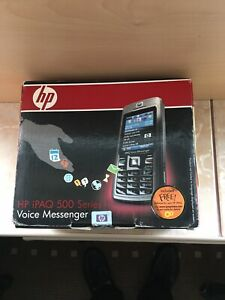 HP iPAQ 500 Voice Messenger, Phone, Pocket PC, WiFi, Boxed With accessories!