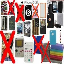 COVER BUMPER CUSTODIA CASE SLIM per APPLE IPHONE SE 5 5S + PELLICOLA - SCEGLI