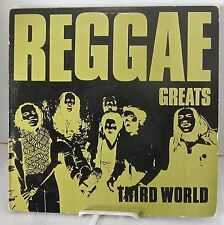 Third World Band Reggae Greats Lp Vinyl Island Records 1984 First Ed. NM / VG+