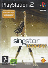 SINGSTAR LEGENDS for Playstation 2 PS2 - with box - PAL