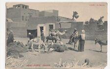 Egypt, Luxor, Au Marche Postcard #3, B206
