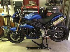 Paddock Side Lift Front and Rear Stand Triumph Speed Triple Gen 2 2011 - 2014