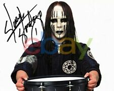Joey Jordison Slipknot drummer signed 8x10 autographed photo RARE! reprint