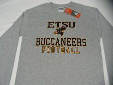 EAST TENNESSEE STATE BUCCANEERS FOOTBALL - ETSU SMALL SIZE LONG SLEEVE T SHIRT!