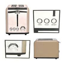 NUOVO 2 Slice Toaster MOKA bene gli elementi in acciaio inox riscaldamento successivo SCONGELAMENTO CUCINA