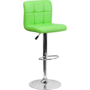 Flash Furniture Green Contemporary Barstool, Green - DS-810-MOD-GRN-GG