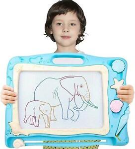 Large Magnetic Scribbler Drawing Board Kids Doodling Art Board Set Erasable Pad