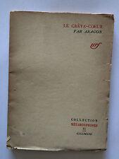 LE CREVE COEUR 1946 ARAGON COLLECTION METAMORPHOSES NRF