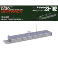 Kato 23-102 Quai ile Fin / Island Platform End Type 1 - N