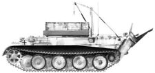 CMK 2012 1/72 Resin Conversion Kit for WWII German Bergepanther Ausf.G (Revell)