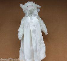 Bearington Bears Baby Blessings Snuggler White Baby Blanket! Sweet!
