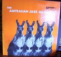 Austrailian Jazz Quartet LP Qunitet  SAMPLE