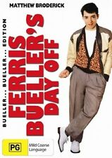 FERRIS BUELLER'S DAY OFF DVD=MATTHEW BRODERICK=REGION 4 AUSTRALIA=NEW AND SEALED