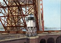 Fort Point Lighthouse Golden Gate San Francisco California Matted Art Prints