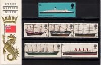 GB 1969 British Ships Presentation Pack 5