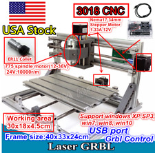 Usacnc 3018 Router Laser Machine Pwm Spindle Wood Pcb Milling Engraving Cutter